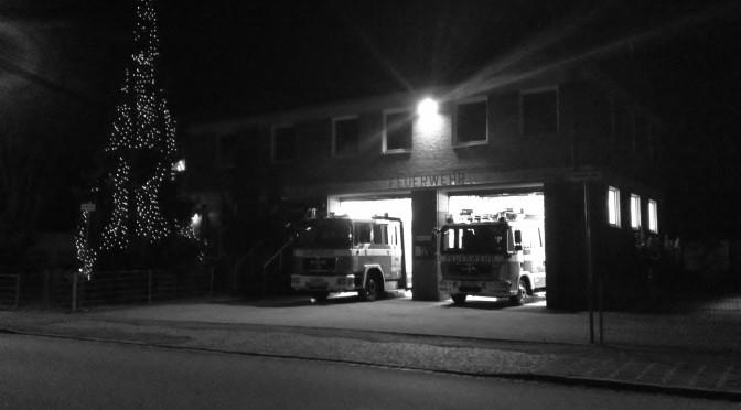 Eine Fröhliche Adventszeit wünscht die Feuerwehr Moorenbrunn
