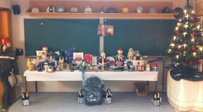 Weihnachtsfeier bei der FF Moorenbrunn